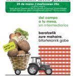 Cartel XV Mercado Agrario transparente